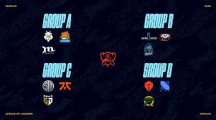 The groups for the League of Legends World Championship have been finalised