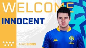 Innocent joins MAD Lions' CS:GO team