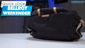Bellroy Weekender: Quick Look