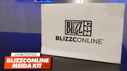 Blizzconline - Unboxing-Video des Pressekits