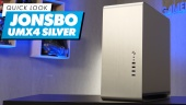 Jonsbo UMX4 Silver PC Case: Quick Look