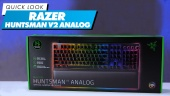 Razer Huntsman V2 Analog: Quick Look