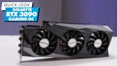 Gigabyte RTX3090 Gaming OC 24G: Quick Look