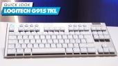 Logitech G915 TKL: Quick Look