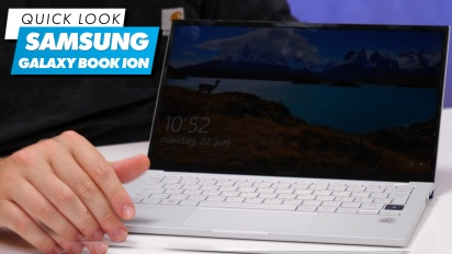 Samsung Galaxy Book Ion: Quick Look